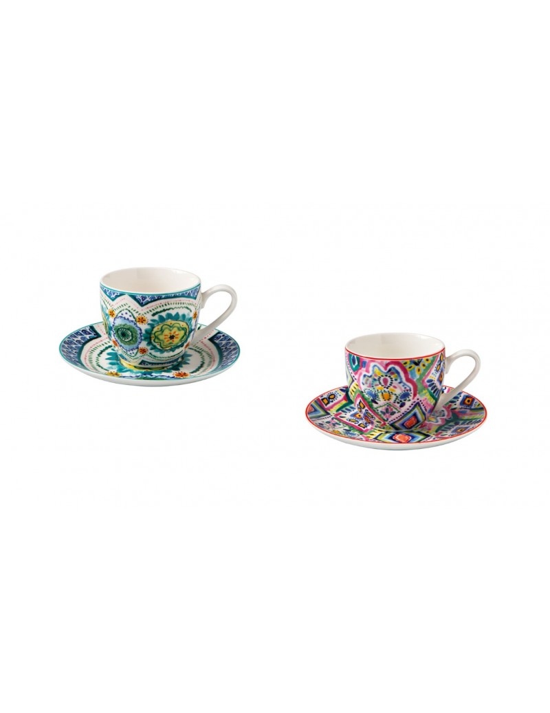 SET 2 PCS SAMBA COFFEE CUPS...