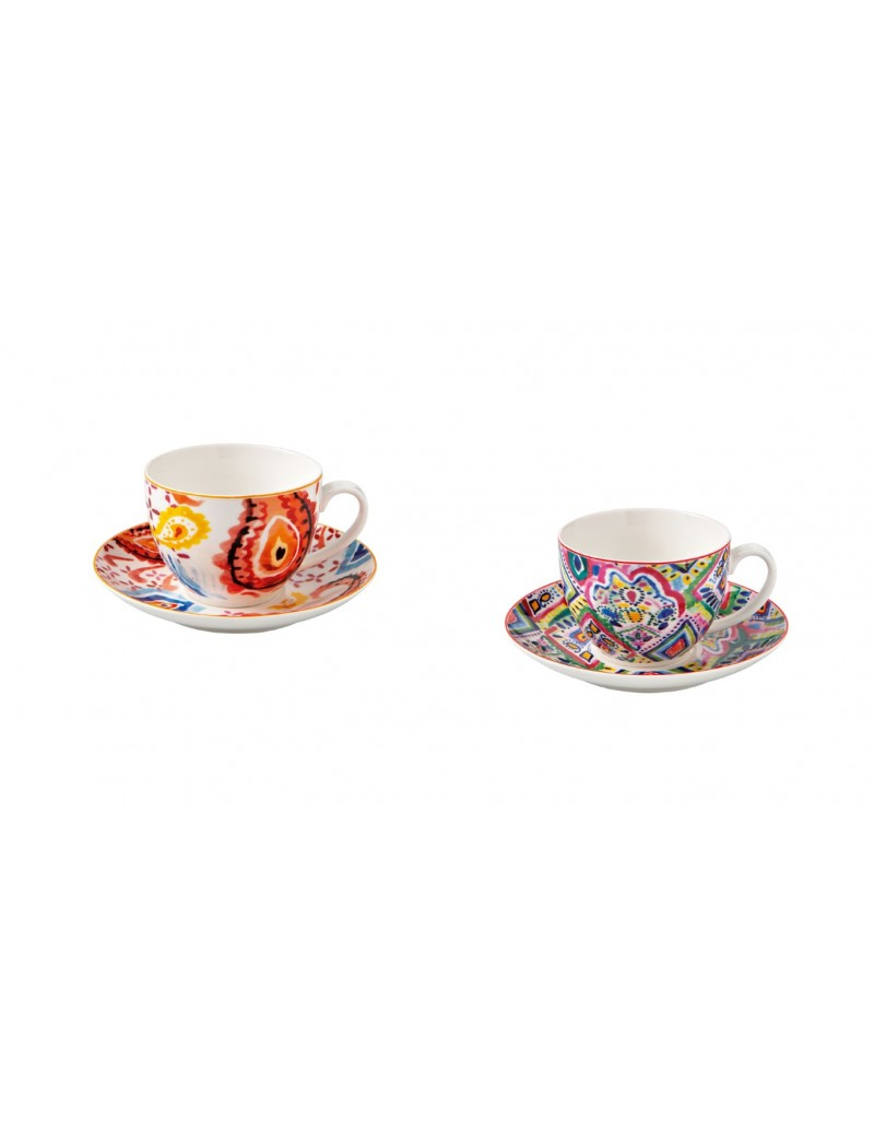 SET 2 PCS SAMBA TEA CUP NEW...