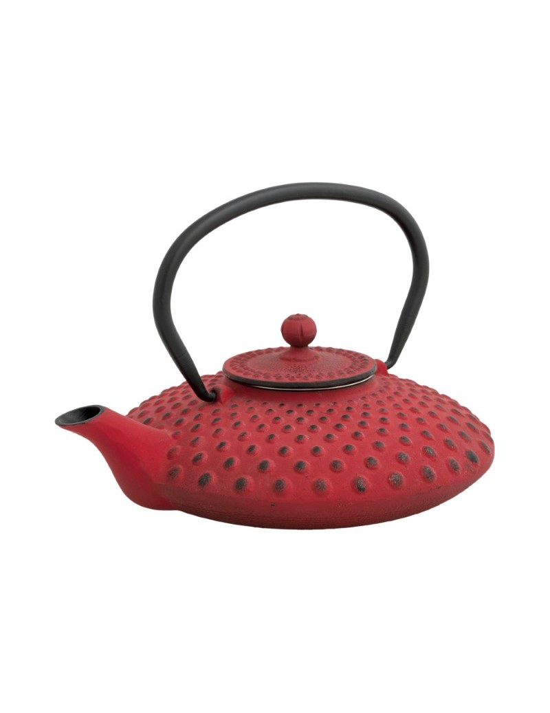 STRAWBERRY TEAPOT CAST IRON...