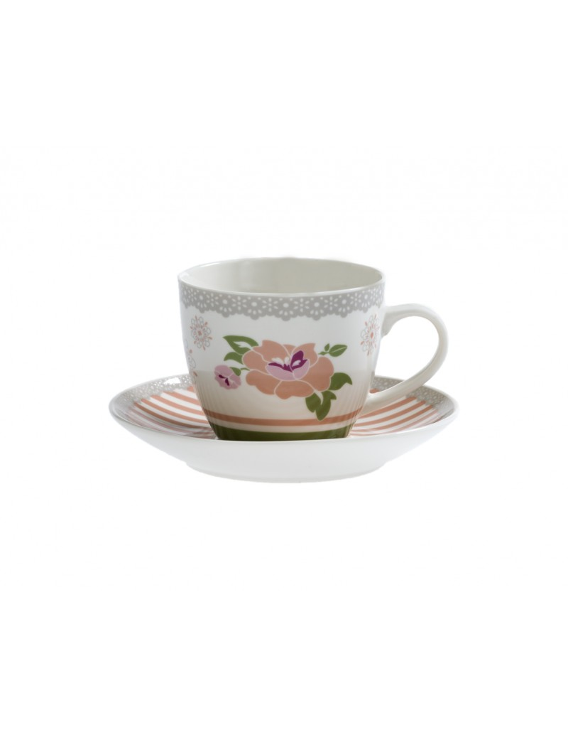 TAZZA THE PEONIA SET 2...