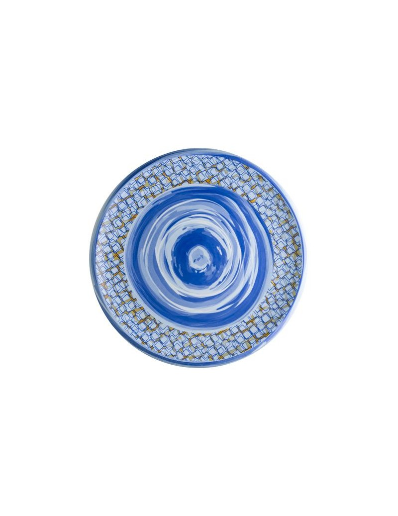 CAOS PORCELAIN SERVING PLATE