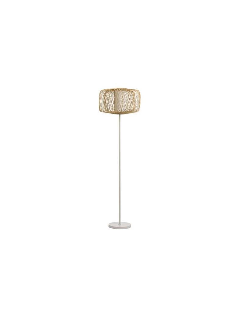 RATTAN FLOOR LAMP