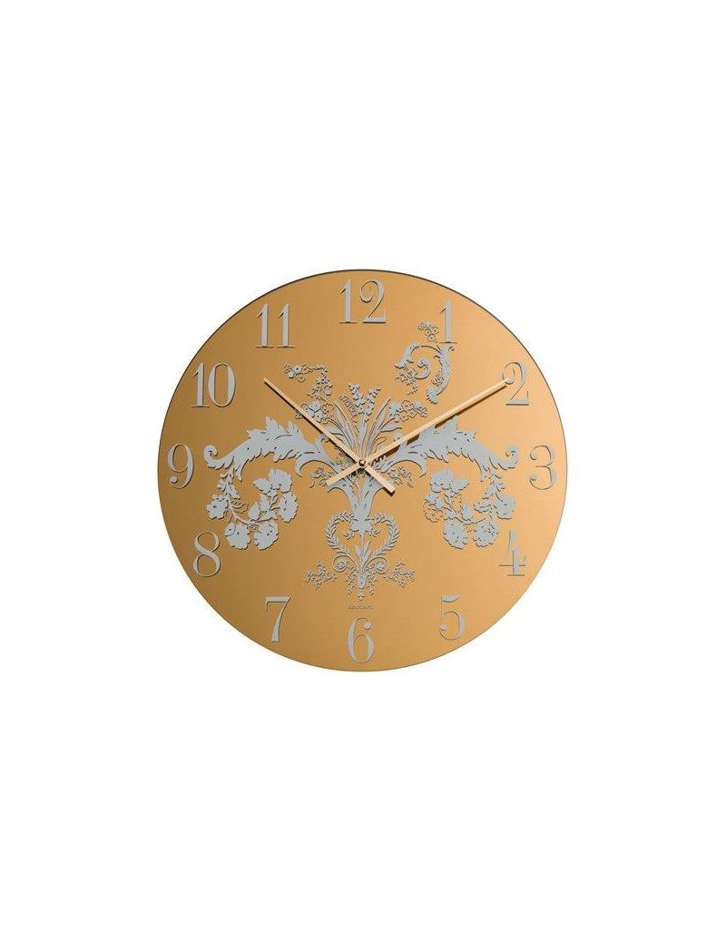 MIRROR DECO BRONZE CLOCK