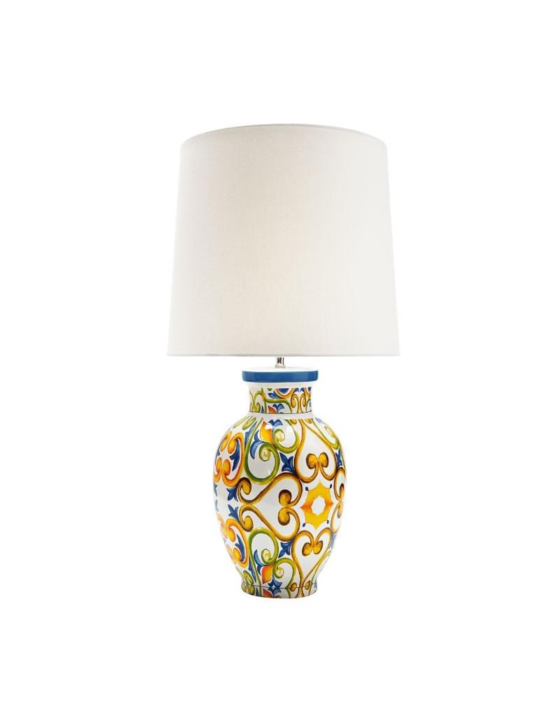 MEDICEA STONEWARE LAMP