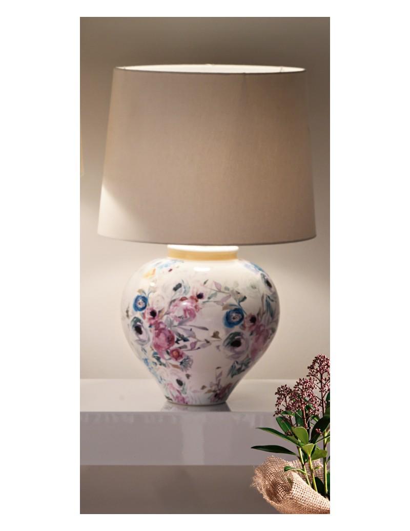 STONEWARE PARADISE LAMP