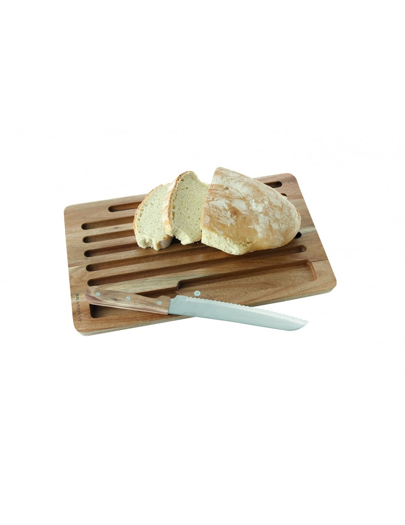 ACACIA BREAD BOARD WITH...