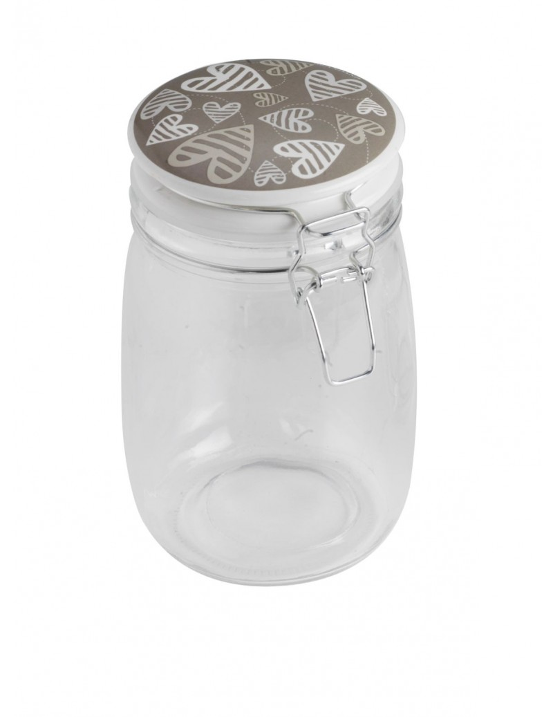 BATTICUORE GLASS JAR