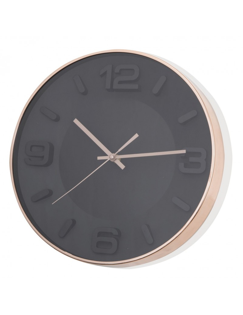 OROLOGIO ROSE GOLD NERO IN...