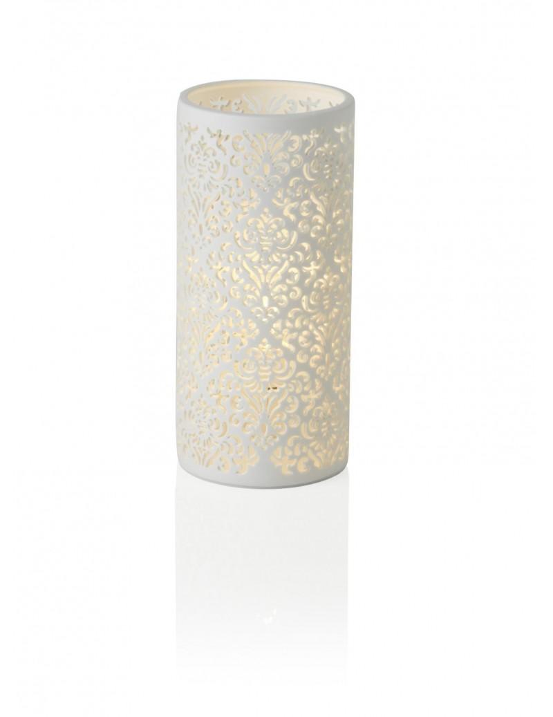 PORCELAIN JACQUARD TABLE LAMP