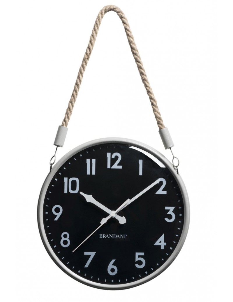 CORDA CLOCK SANDBLACK...
