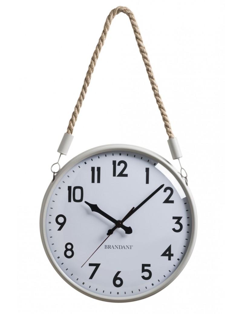 CORDA CLOCK SANDWHITE...