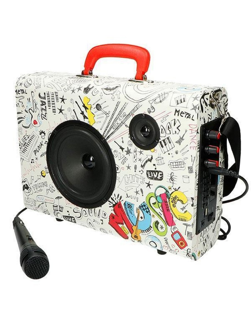 MUSIC CASE 10W WITH USB...