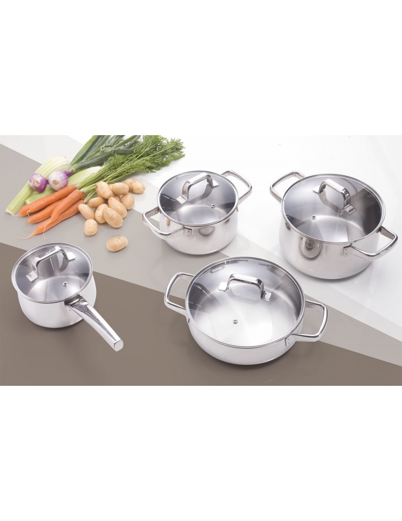 MAMMAMIA SET OF 8 STAINLESS...