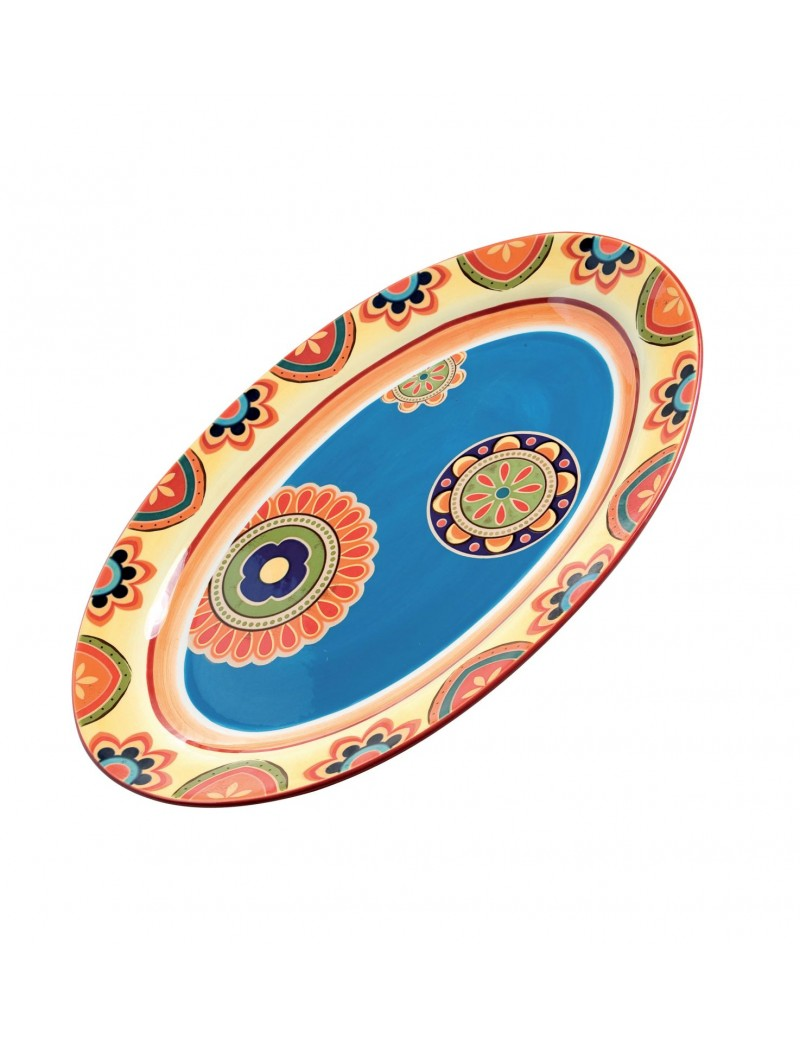 IRONSTONE MESSICO OVAL TRAY
