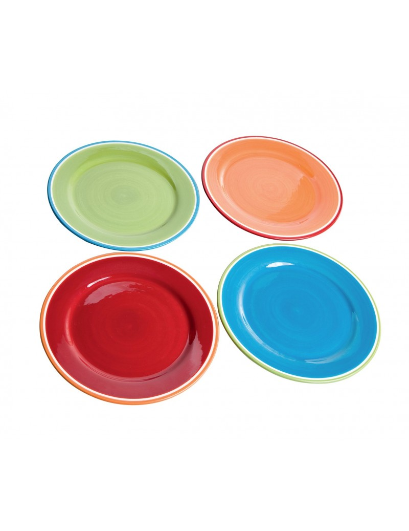 MESSICO 4 PCS DINNER PLATE...