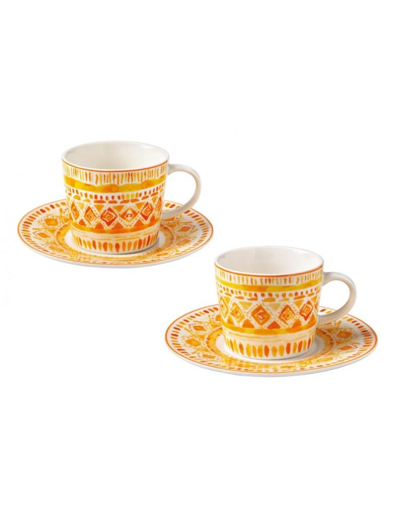 TAZZINA CAFFE INCAS SET 2...