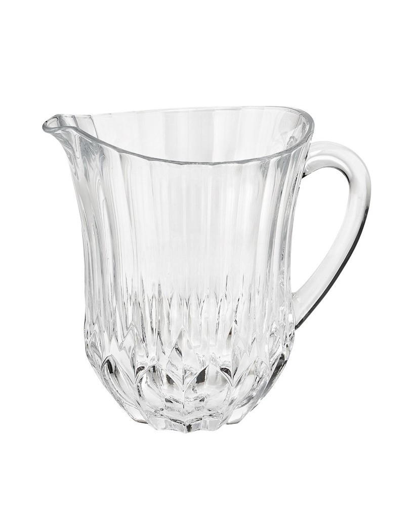 VELA CRYSTAL GLASS JUG