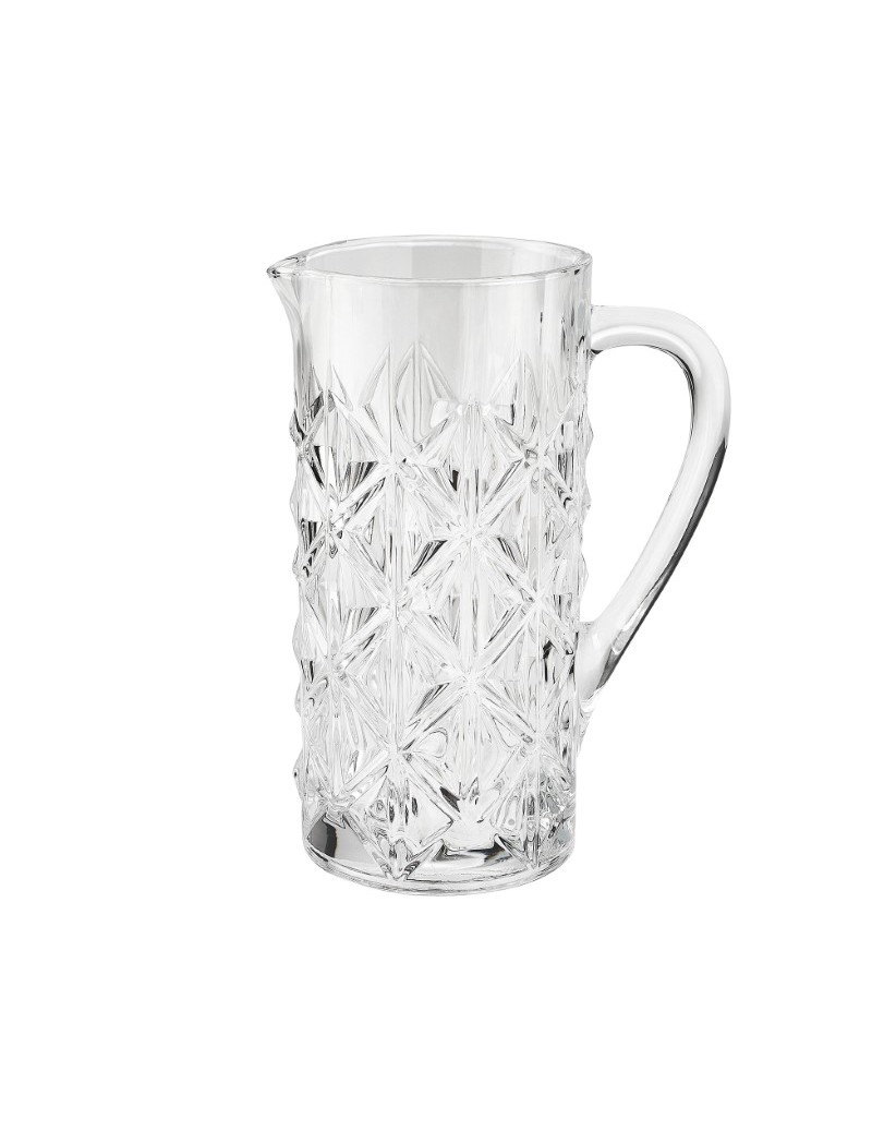 STRONG CRYSTAL GLASS JUG
