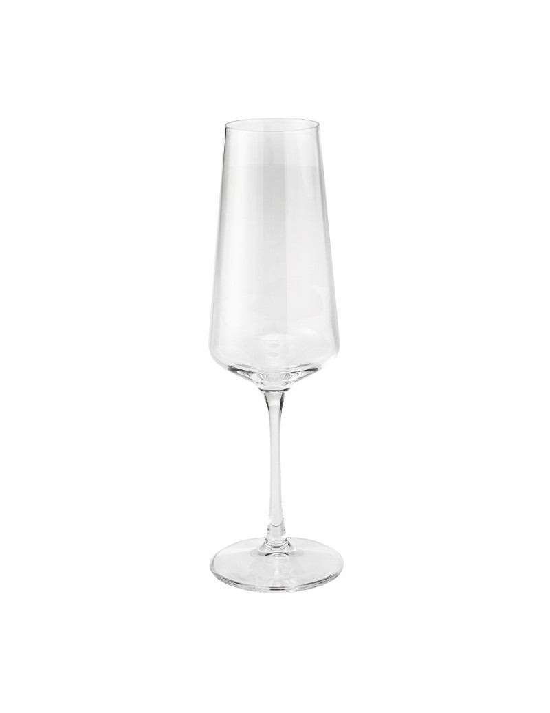 FLUTE ESSENTIAL CRYSTAL GLASS