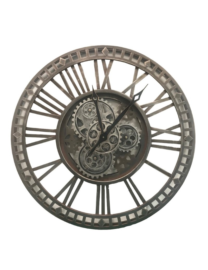 METAL MERIDIUM CLOCK WITH...