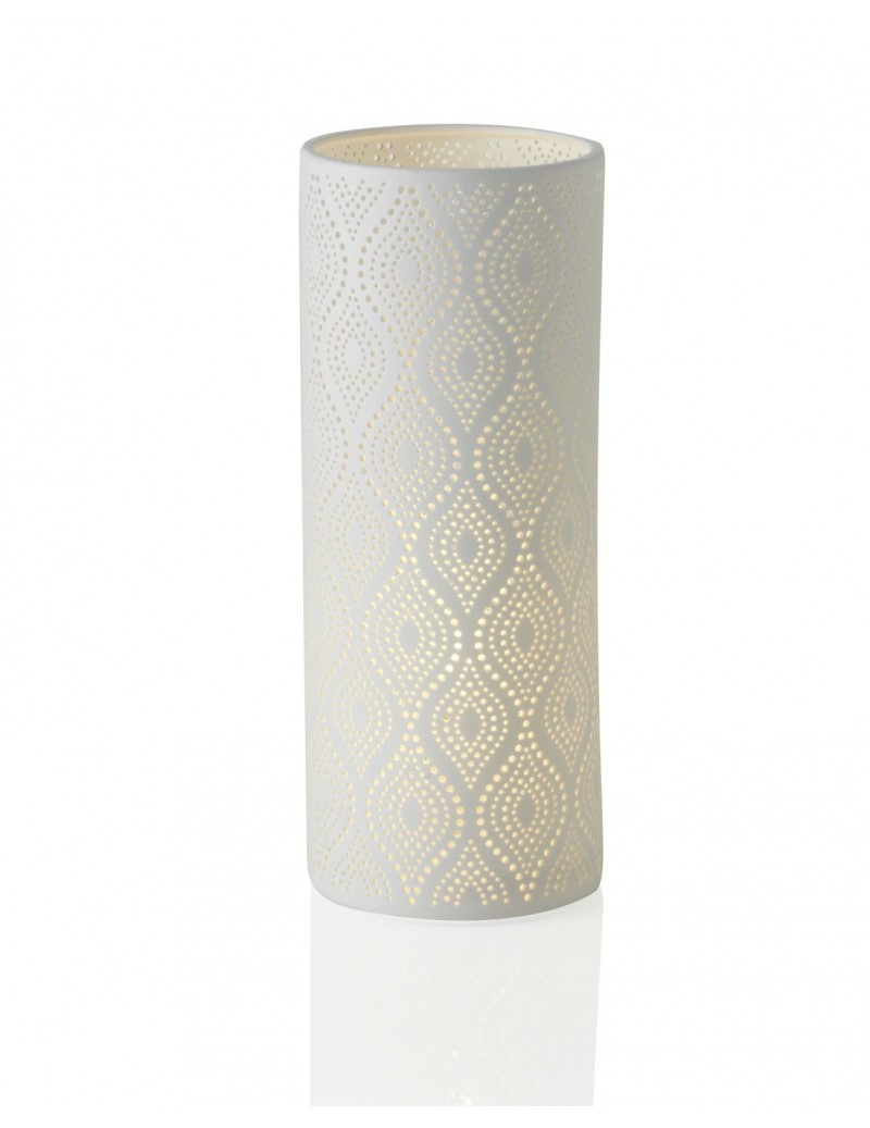 PORCELAIN ECLECTIC TABLE LAMP